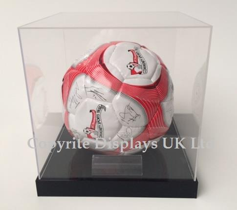 Acrylic Football Display Case UK - Raised