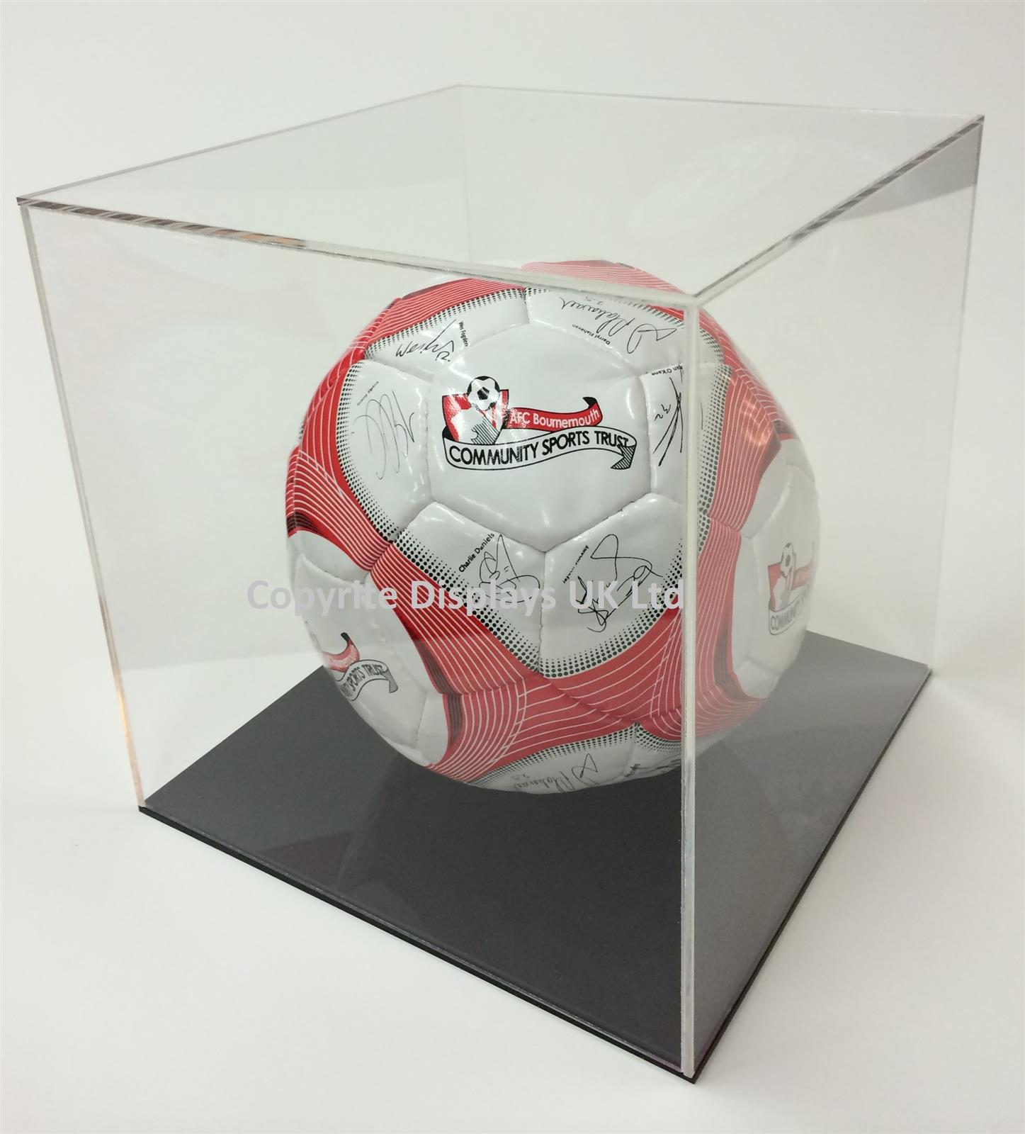 Acrylic Football Display Case - Perspex