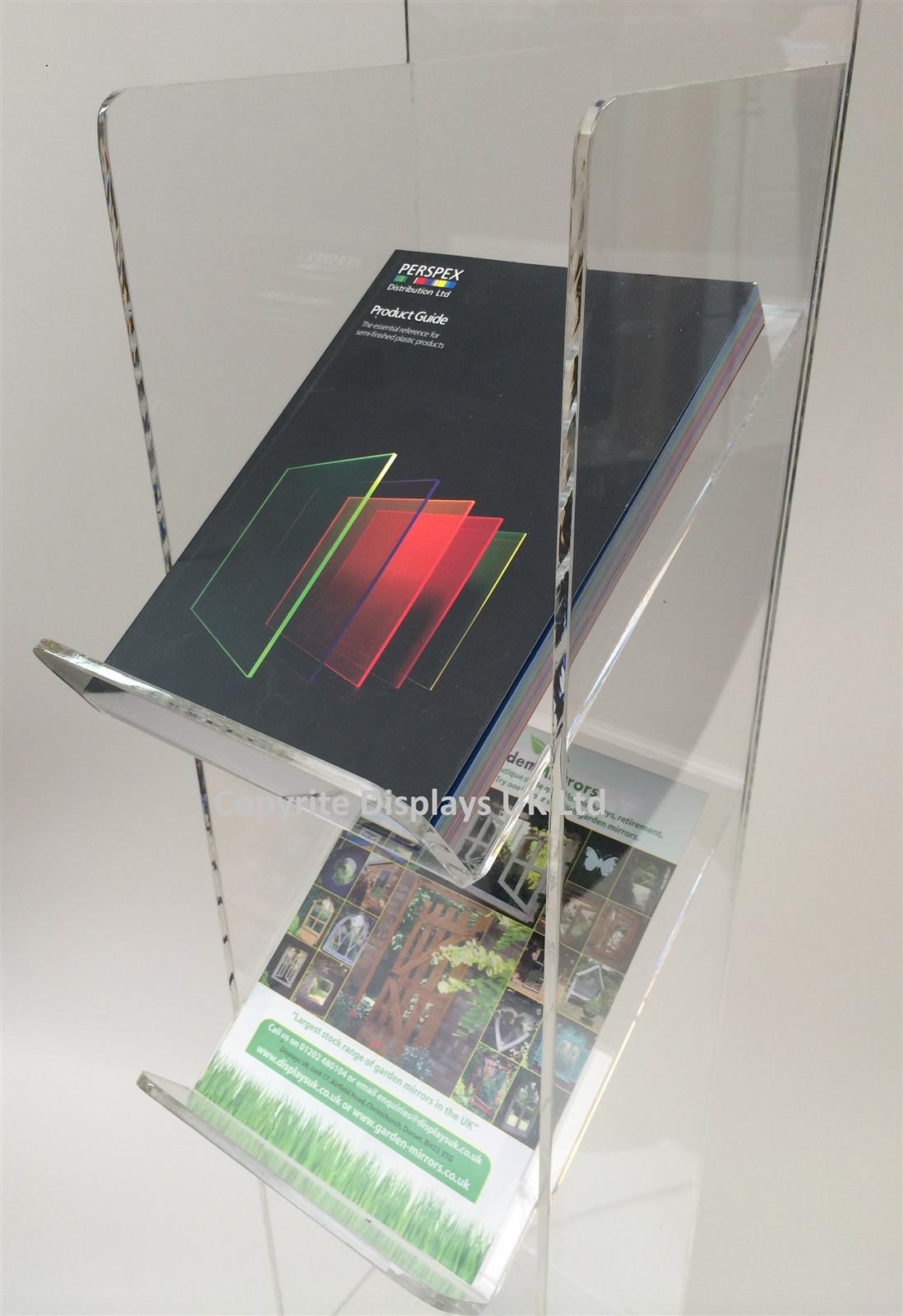 Acrylic A5 Brochure Stand - Totem