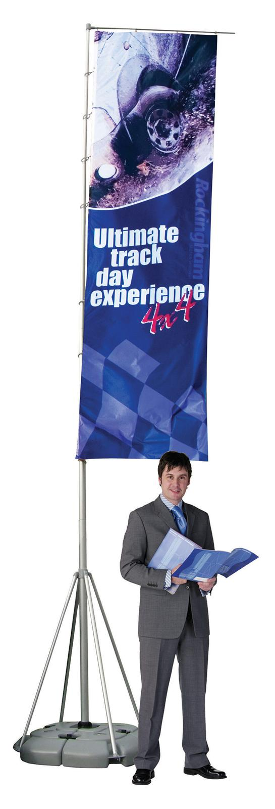 5MTR Wind Dancer Outdoor Portable Flag Banner