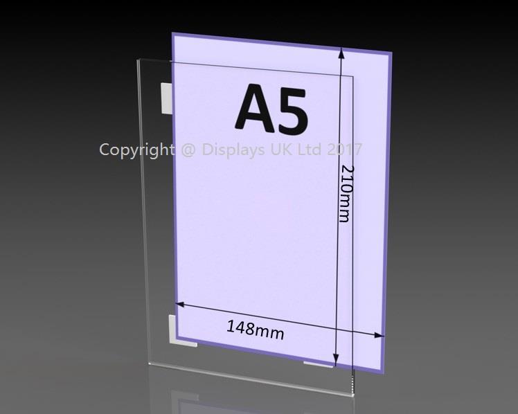 Acrylic Poster Sleeve - Self Adhesive