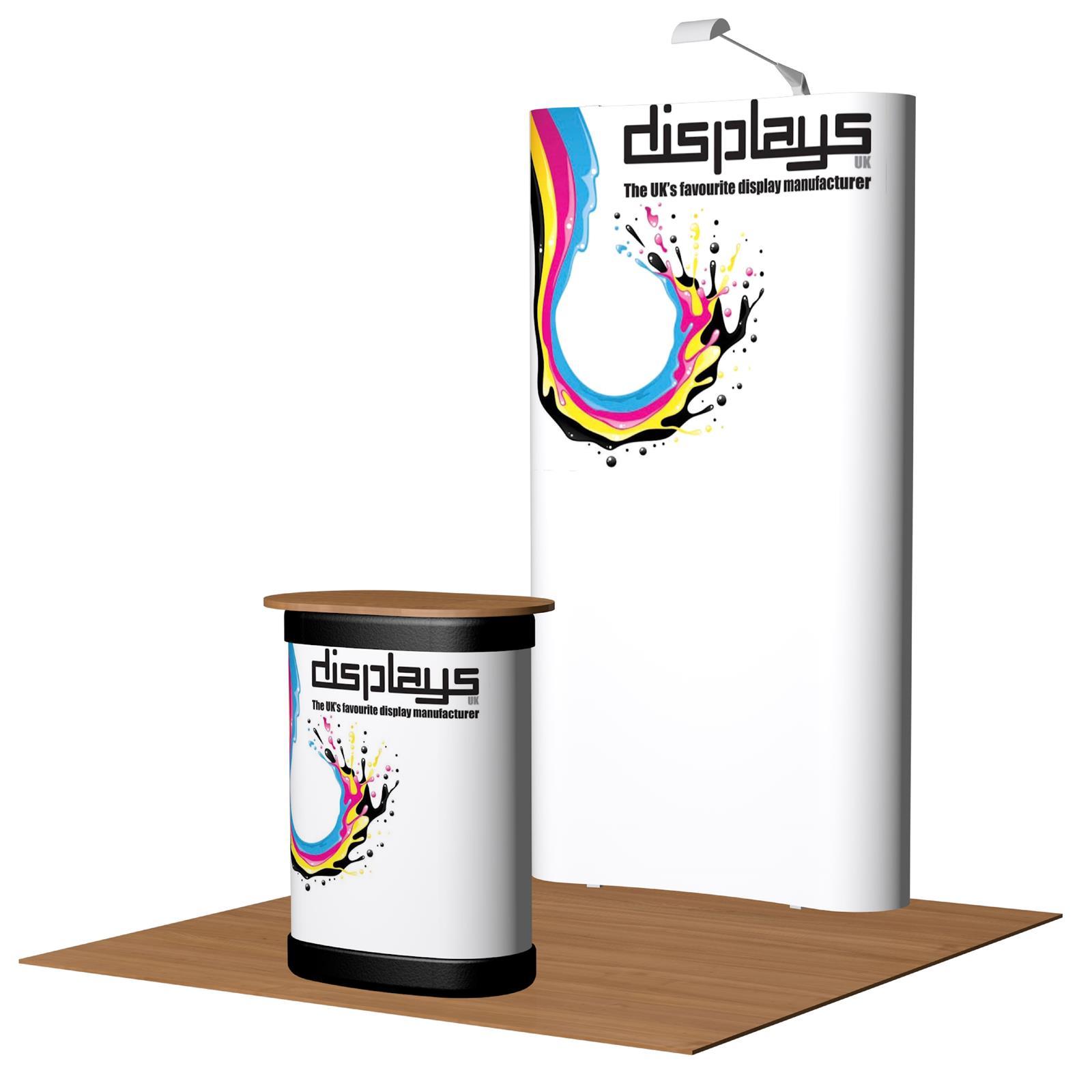 3x1 Visage Premium Pop Up Exhibition Stand Display