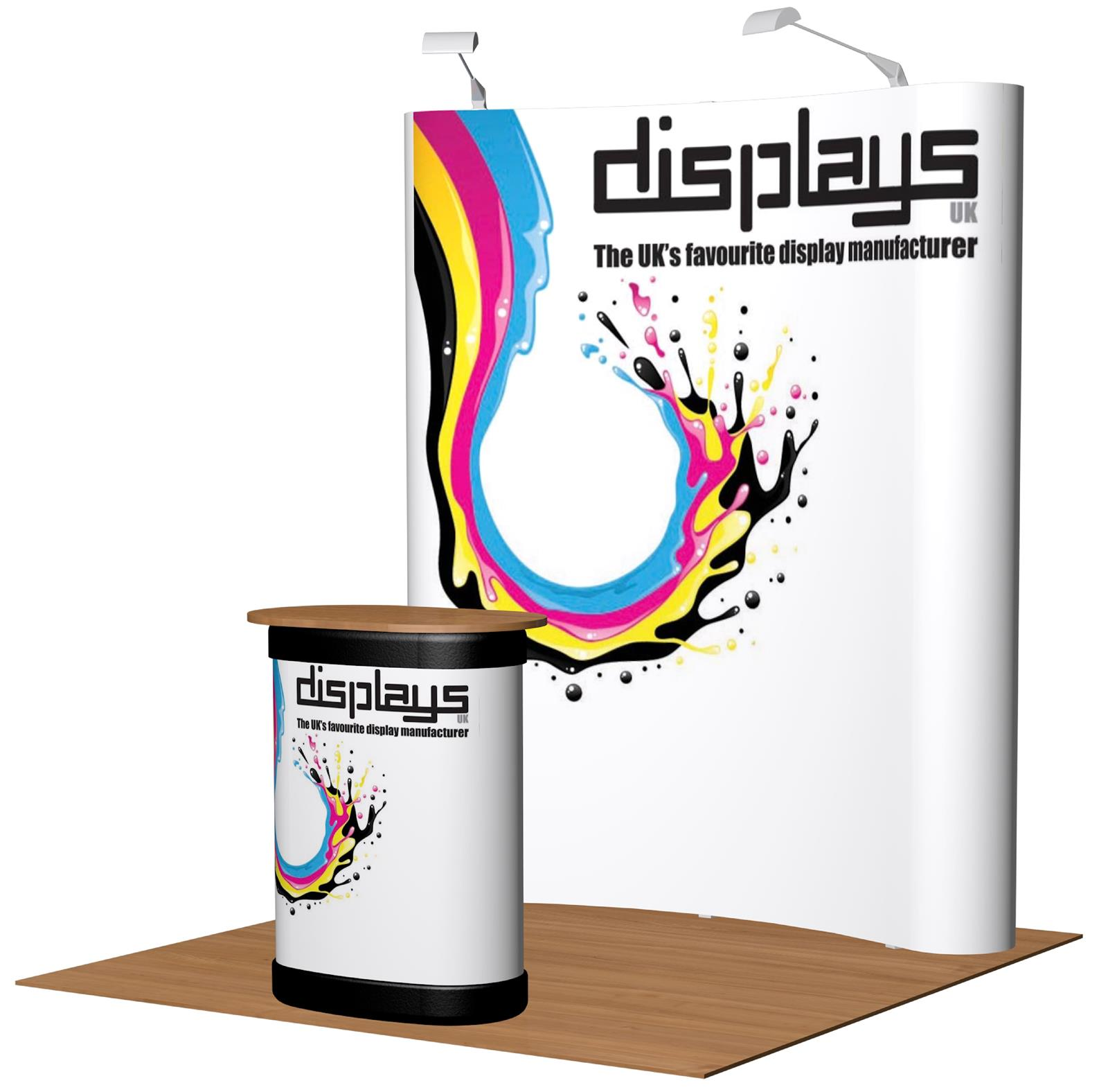 3x2 Visage Premium Pop Up Exhibition Stand Display