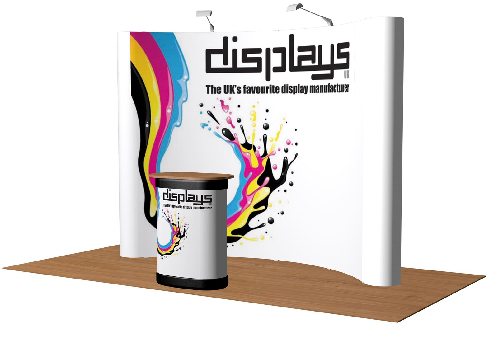 3x4 Visage Premium Pop Up Exhibition Stand Display