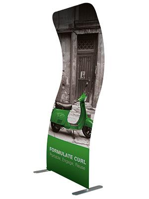 Formulate Curl Fabric Exhibition Stand £239.50