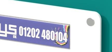 Informer Acrylic 2 x A4 Certificate Award Poster Holder