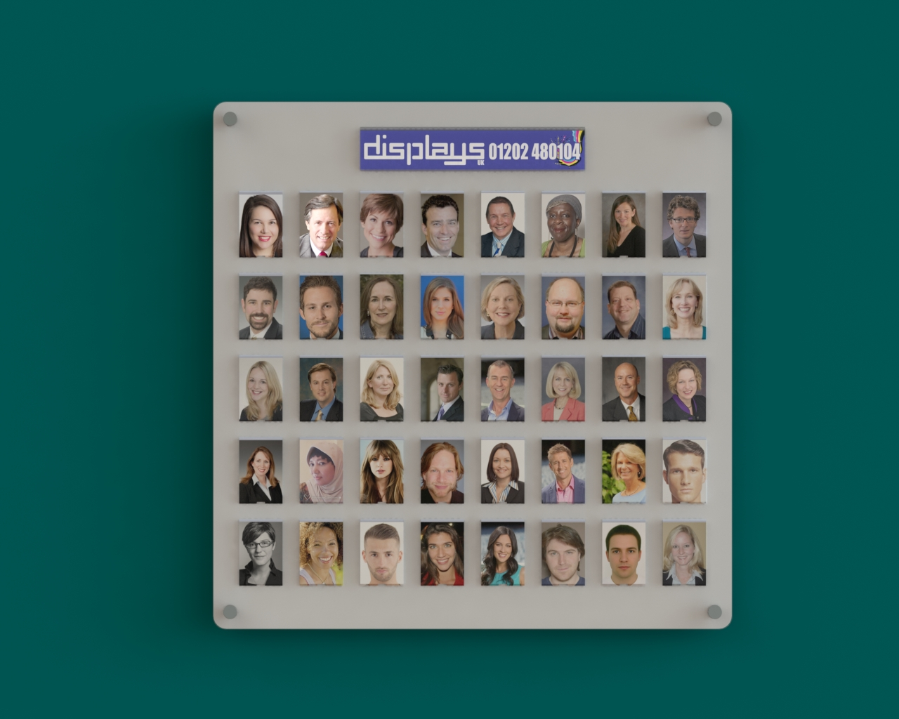 Staff Photo Boards For Schools & Business