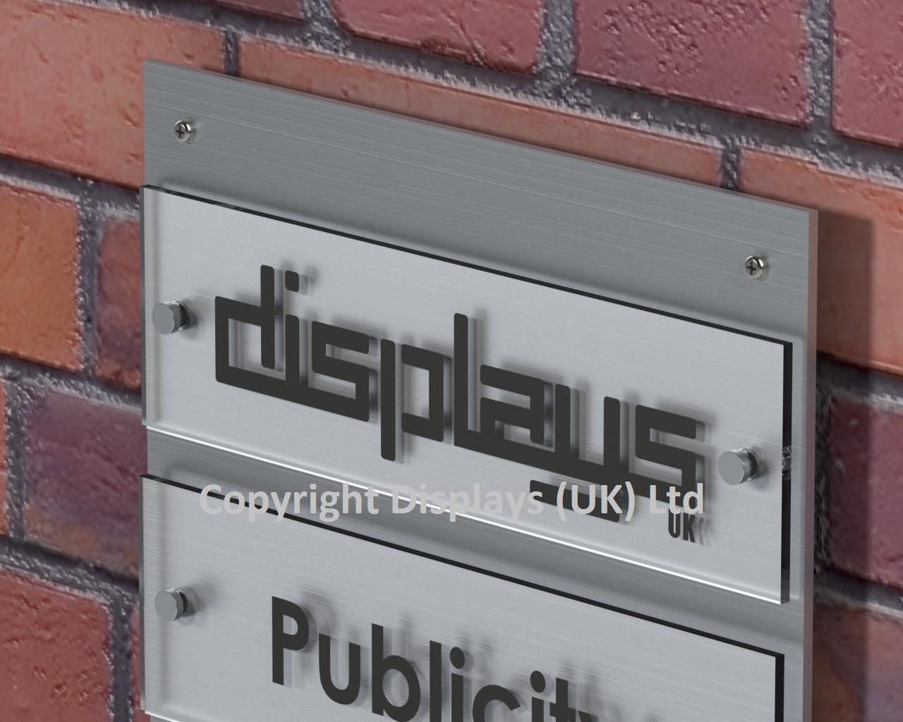 Outdoor Acrylic Business Directory Sign