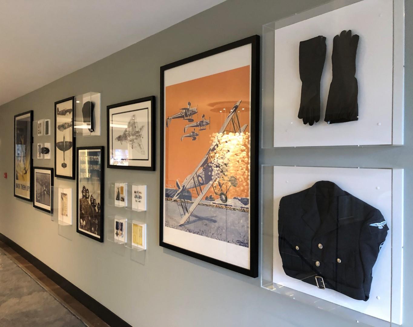 Wall Mounted Acrylic Display Cases