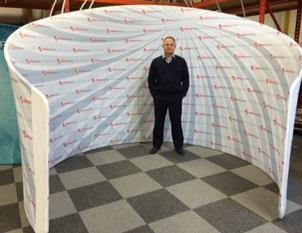 Formulate Fabric Meeting Room Portable Pod