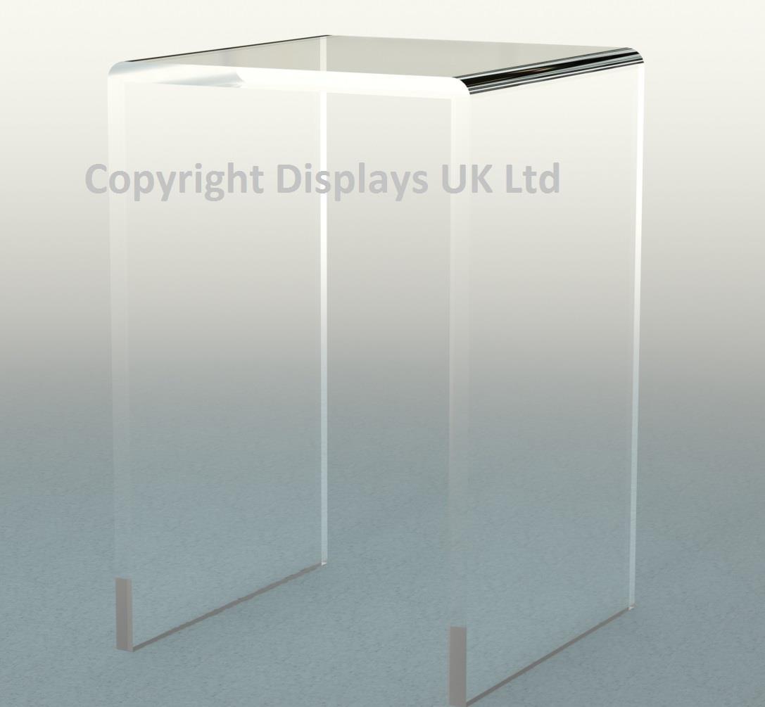 Tall Perspex Acrylic Bridge / Lift / Risers