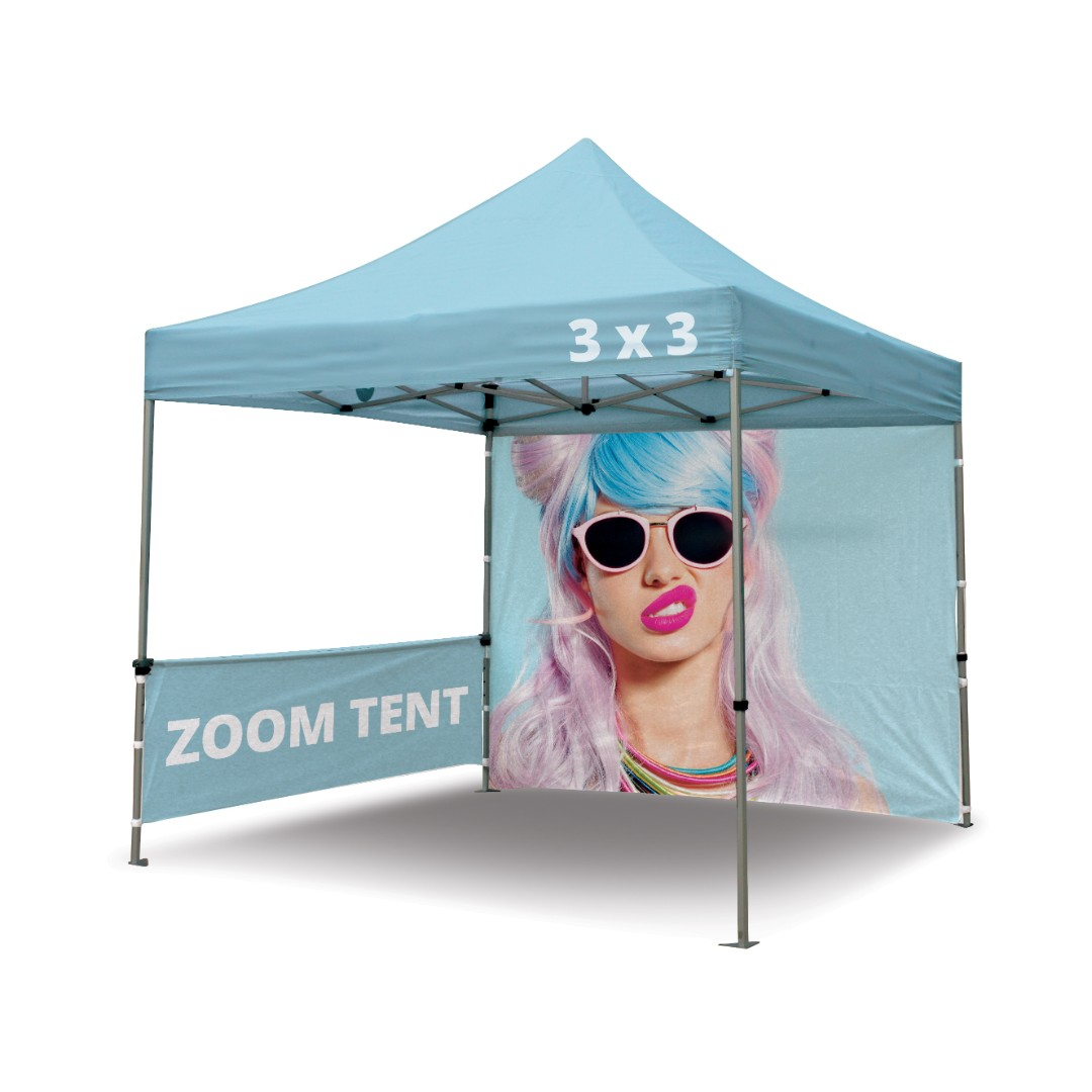 Branded Gazebo / Printed Canopy with 1, 2 or 3 Walls
