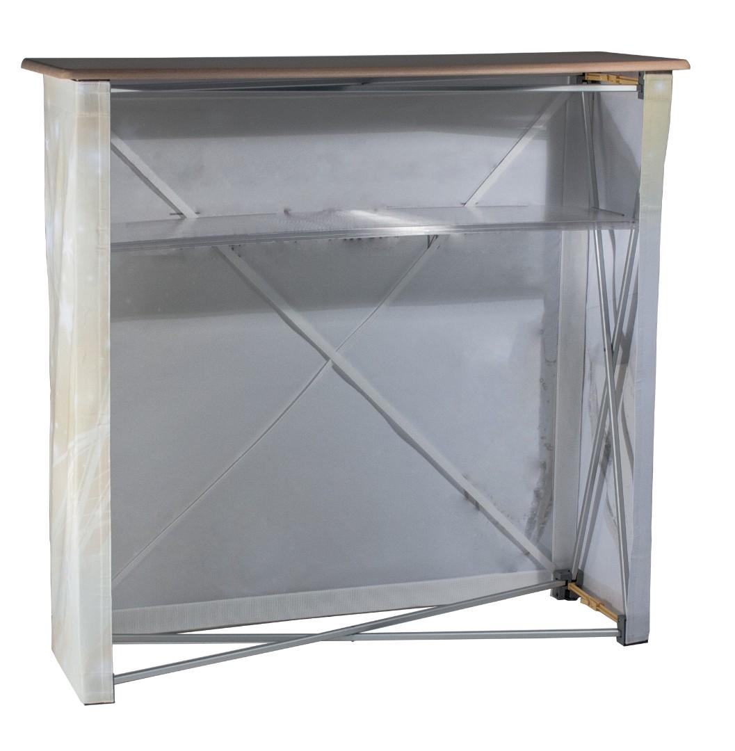 Hop Up Fabric Display Counter