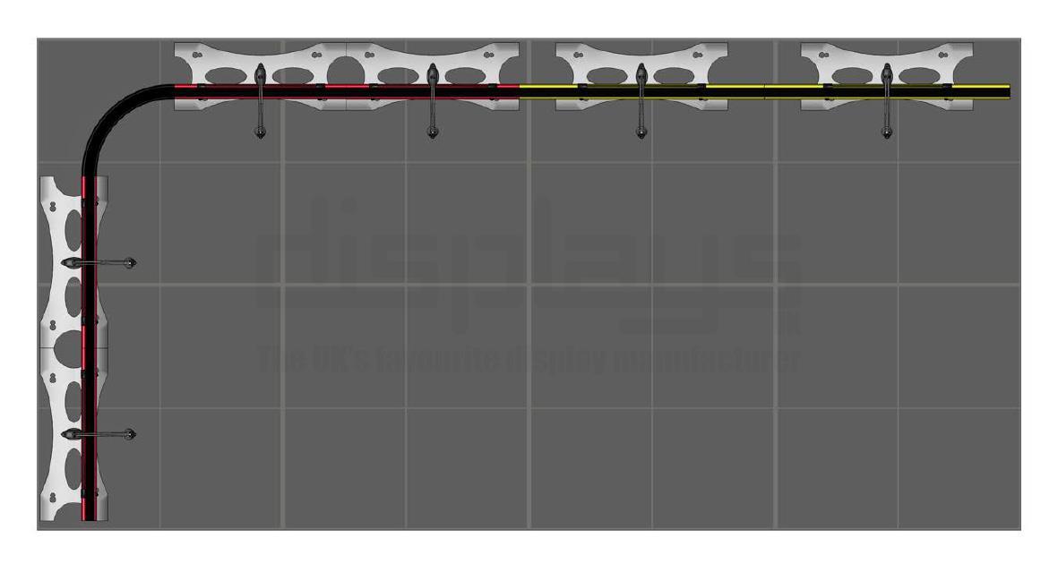 Twist 4m x 2m Modular Banner System - Kit 05 -