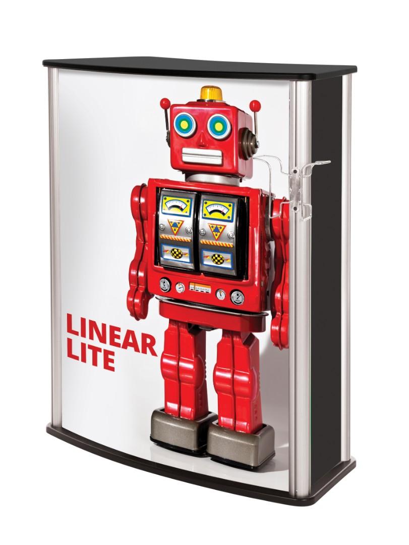 Linear Lite Exhibition Counter / Desk