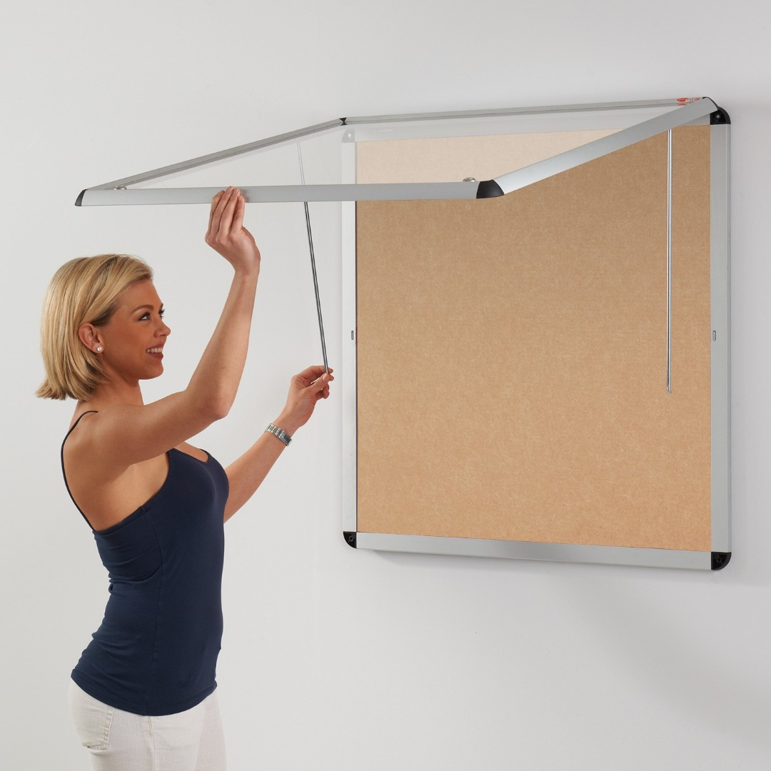 Shield Eco-Colour® Resist-a-Flame Corridor Tamperproof Noticeboards