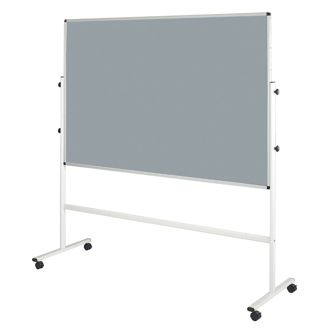 Double Sided Mobile Noticeboards - Metal Frame