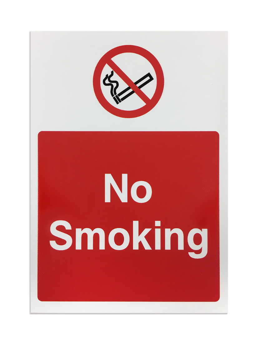 'No Smoking' Safety Sign - Foamex