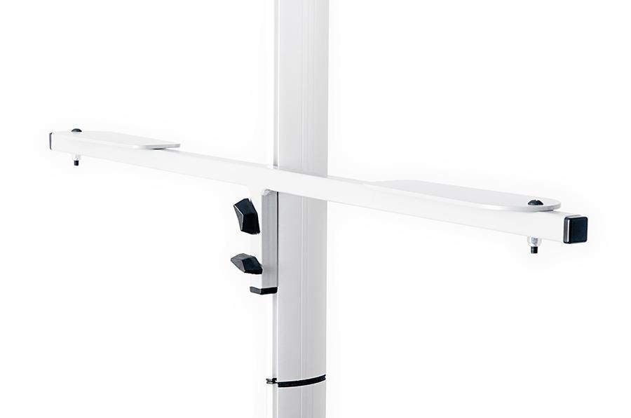 Twist Banner Stand Shelf Unit
