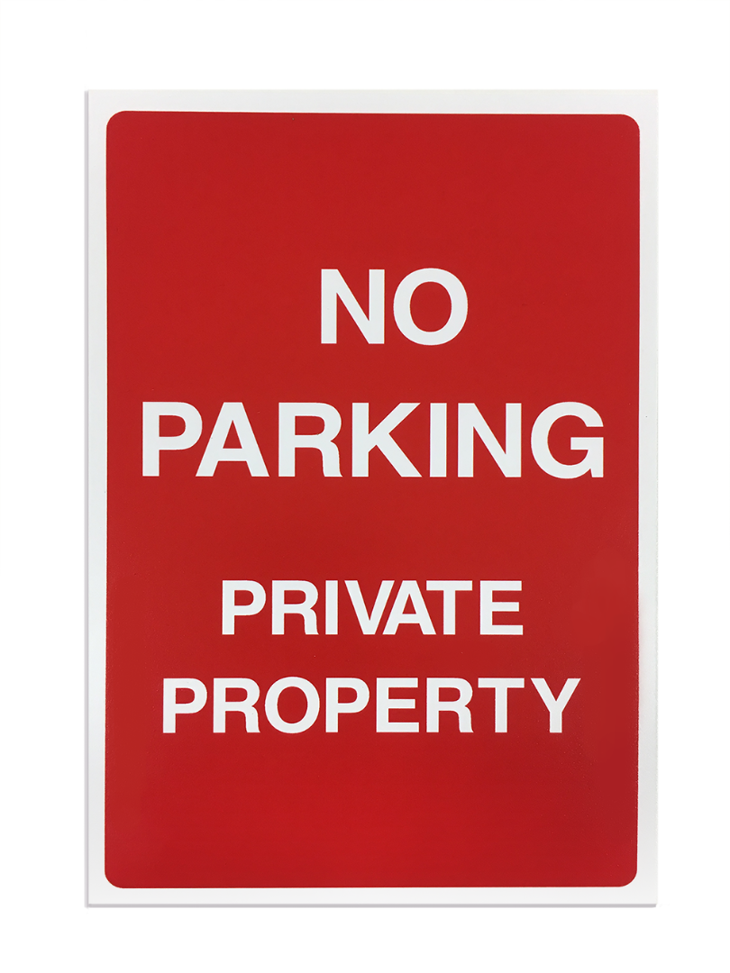 'No Parking' Safety Sign - Foamex