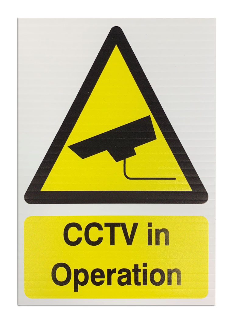 'CCTV in Operation' Safety Sign - Correx