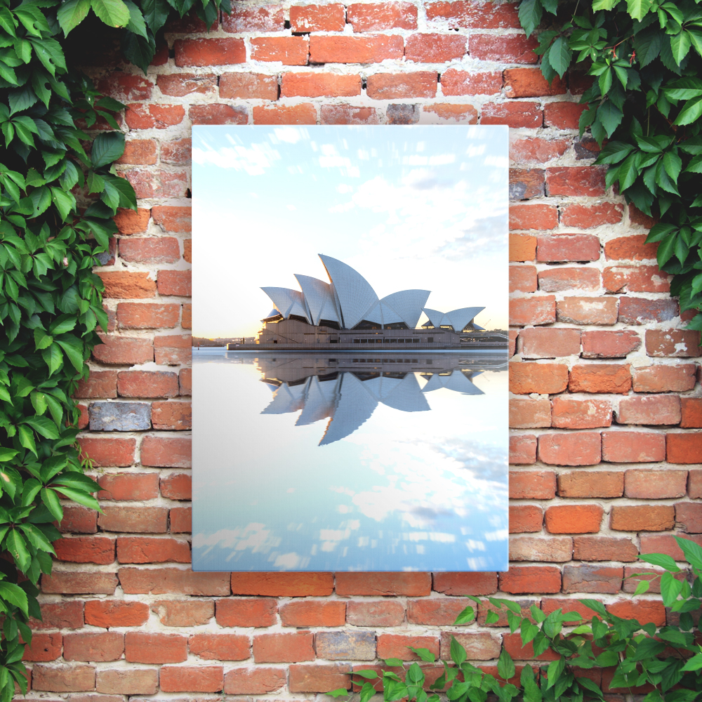 Printed Outdoor Garden Wall Art Panels - Opera House