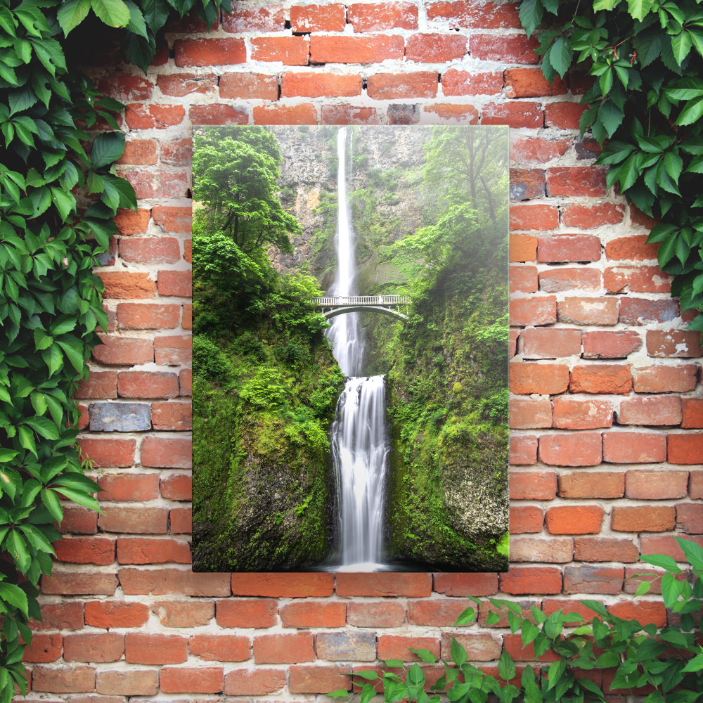 Printed Outdoor Garden Wall Art Panels - Waterfall