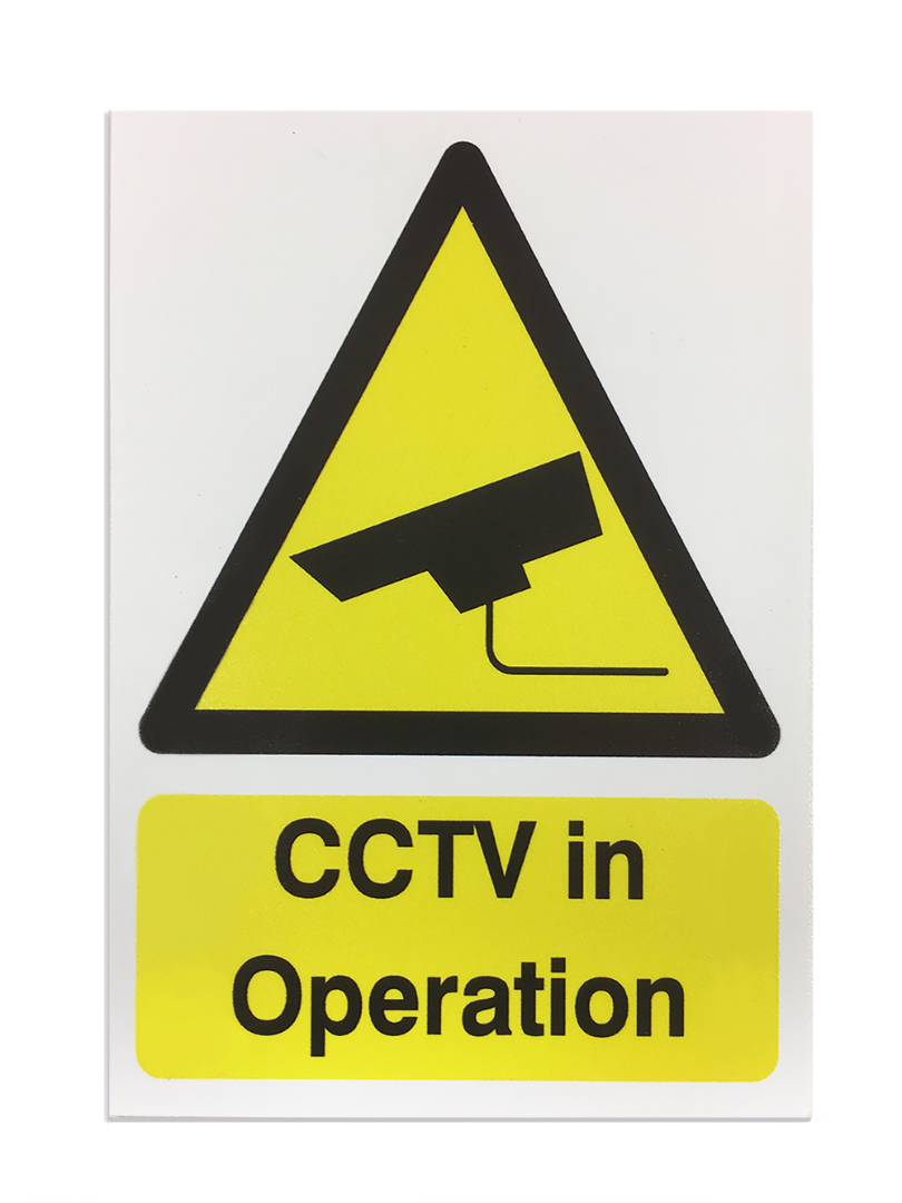 'CCTV in Operation' Safety Sign - Foamex