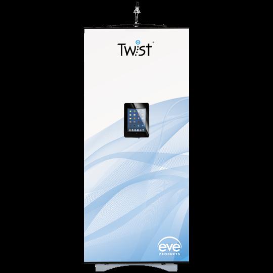 Twist Banner Stand iPad Holder