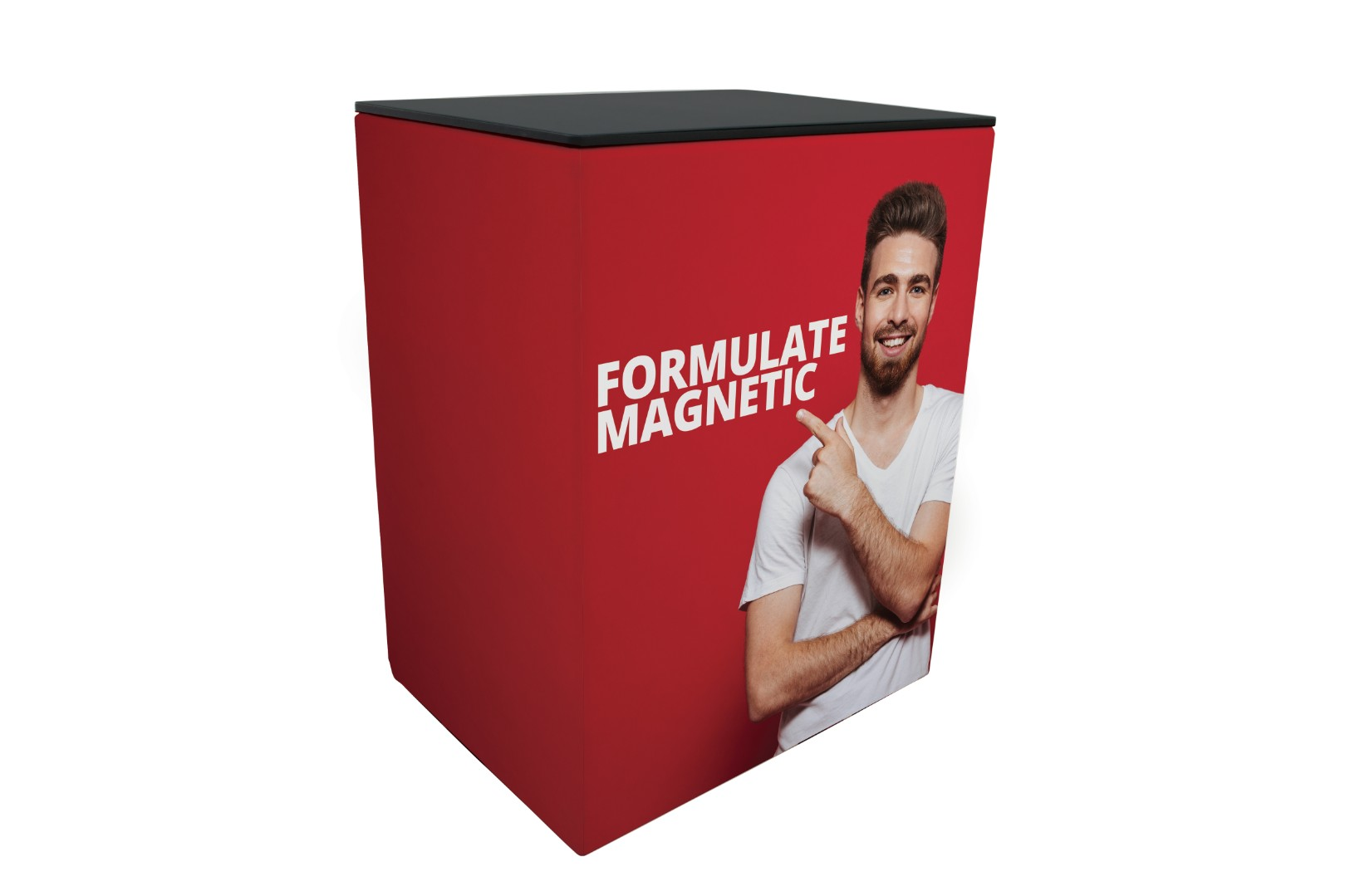 Formulate Magnetic Tension Fabric Display Counter