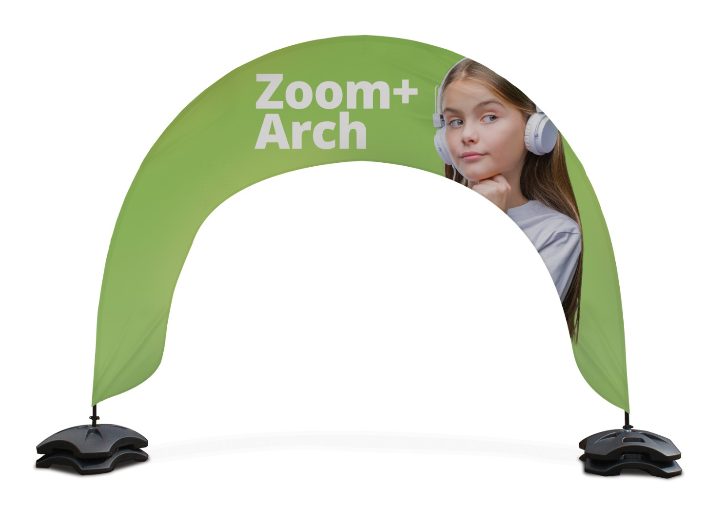 Zoom+ Arch Outdoor Event Banner