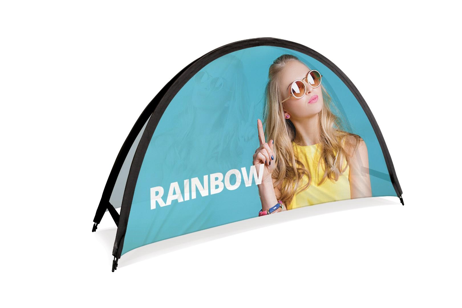 Rainbow Pop Up Outdoor Banner