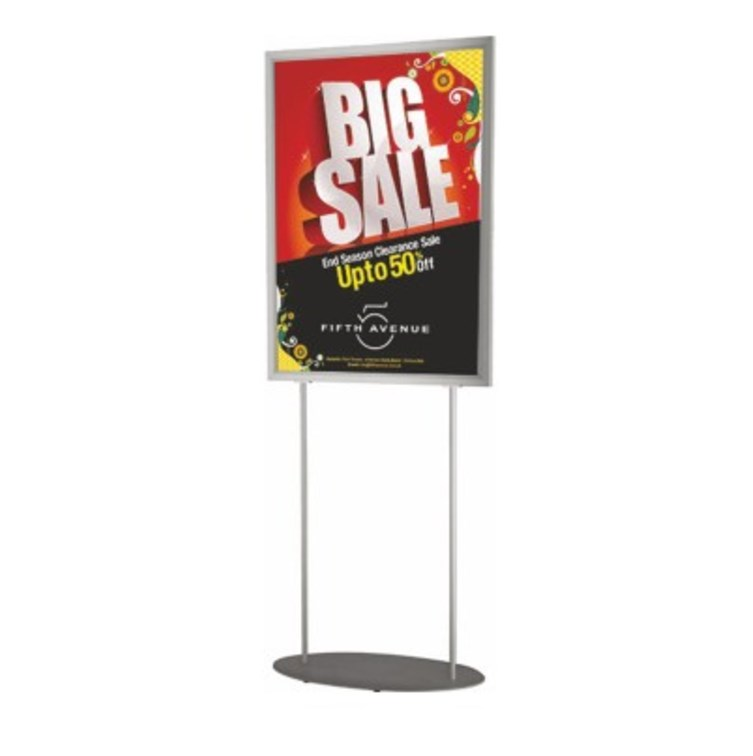 Retail A1 Poster Holder Freestanding