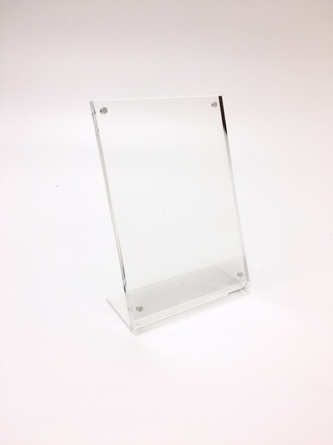 Acrylic A5 Portrait Leaflet//Brochure Holder//Counter Display Retail//Shop//Museum
