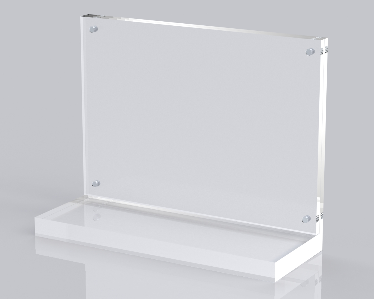 Premium Magnetic Clear Perspex Acrylic Product Glorifier