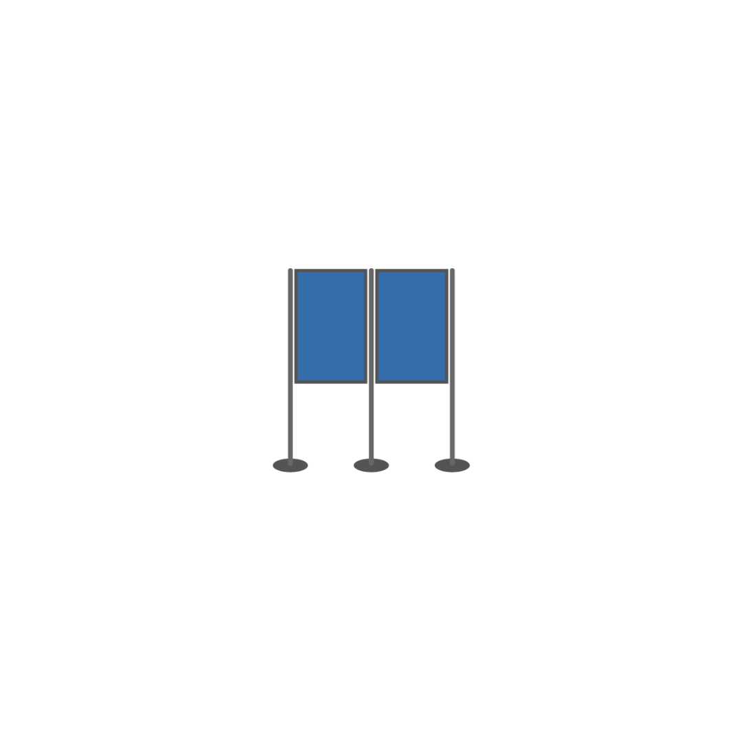 Display Boards for Hire PPH53