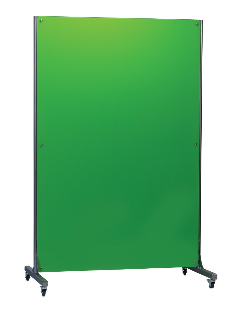Mobile Magnetic Glass Writing Noticeboard