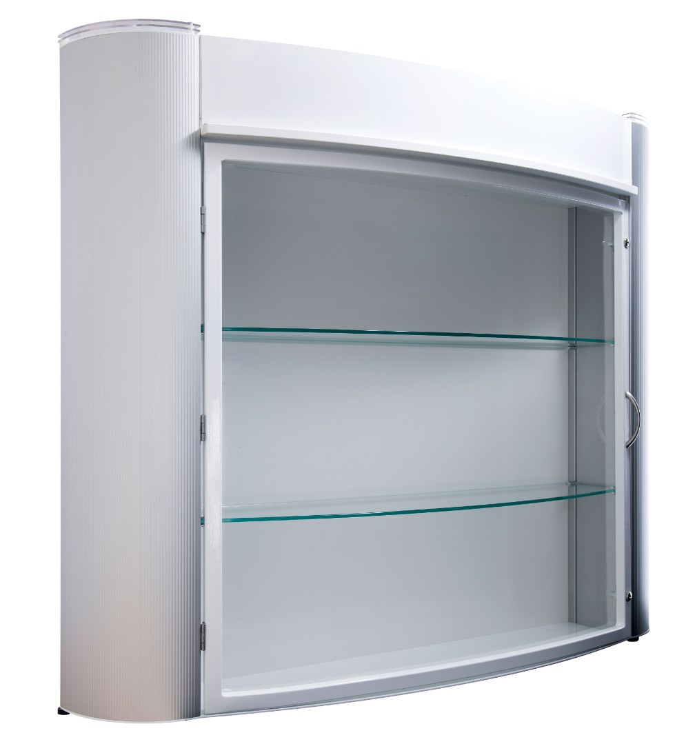 Wall Mounted Trophy Showcase Display Cabinet