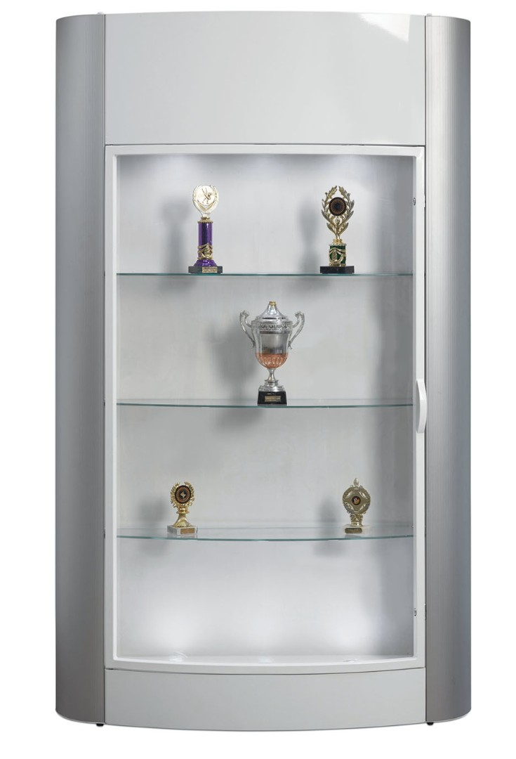 Floor Standing Trophy Showcase Display Cabinet