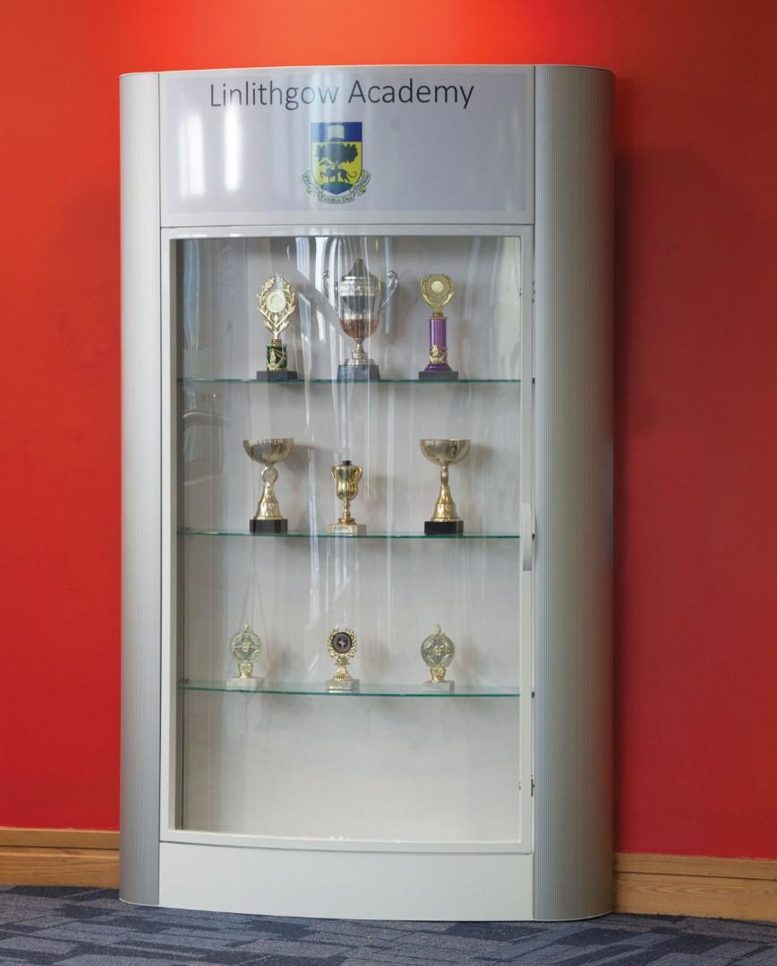 Personalised Floor Standing Trophy Showcase Display Cabinet