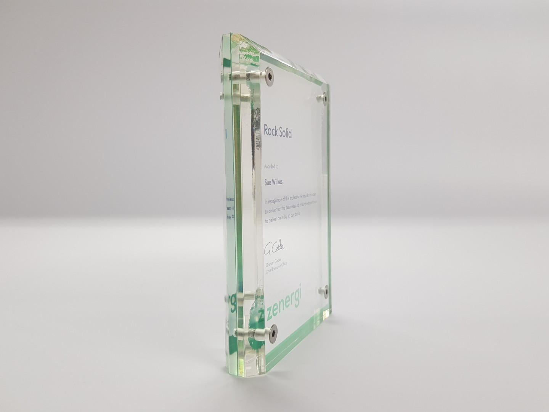 Bespoke Acrylic Awards and Trophies