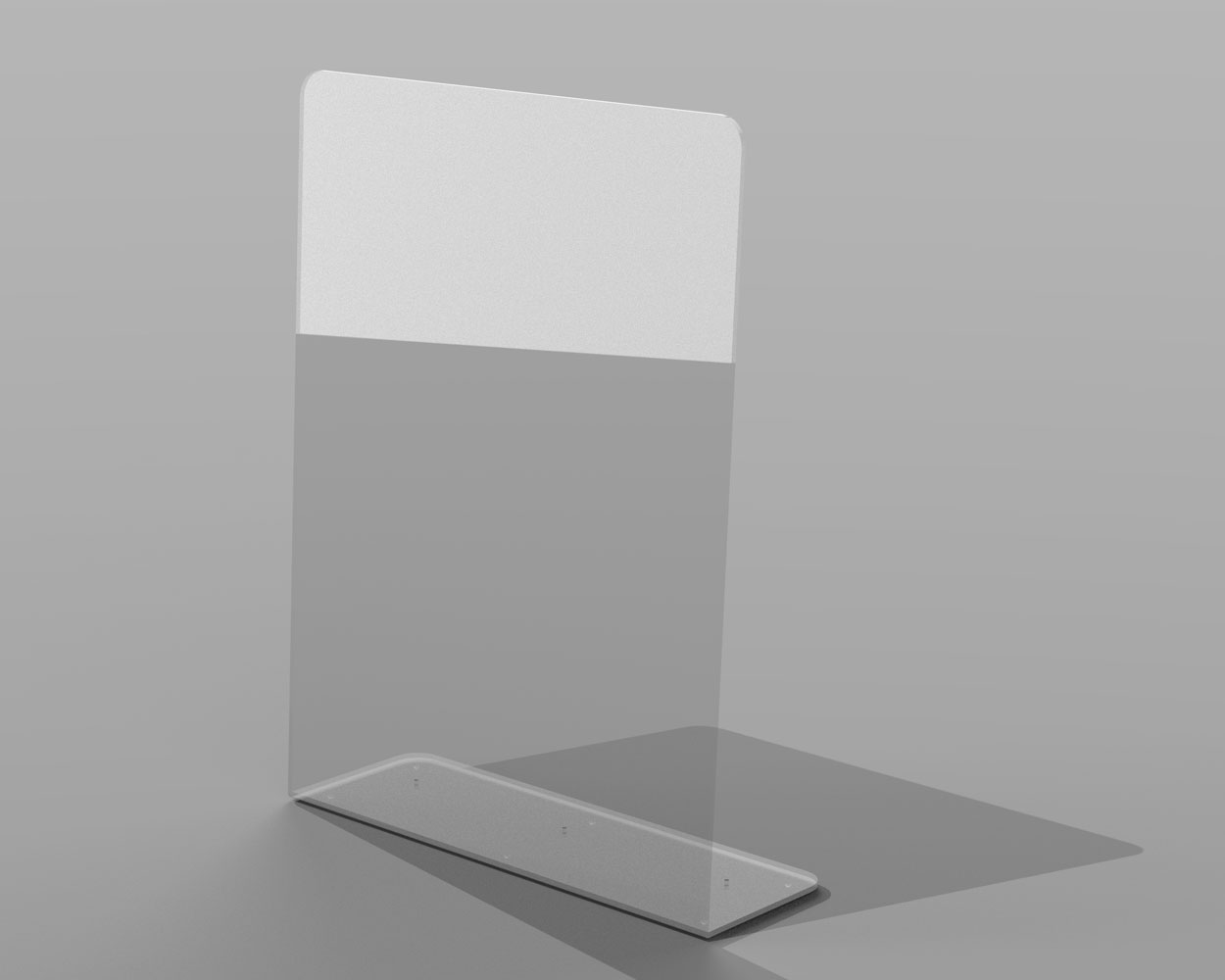 Tall Perspex Acrylic Sneeze Guard Screen
