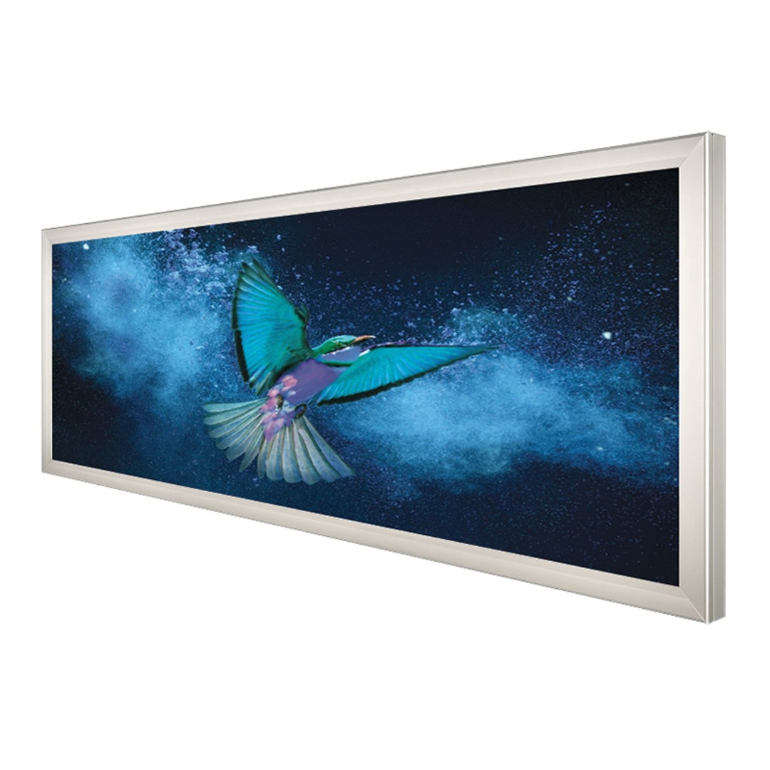 LED Outdoor Wall Mounted Banner Frame - 60mm