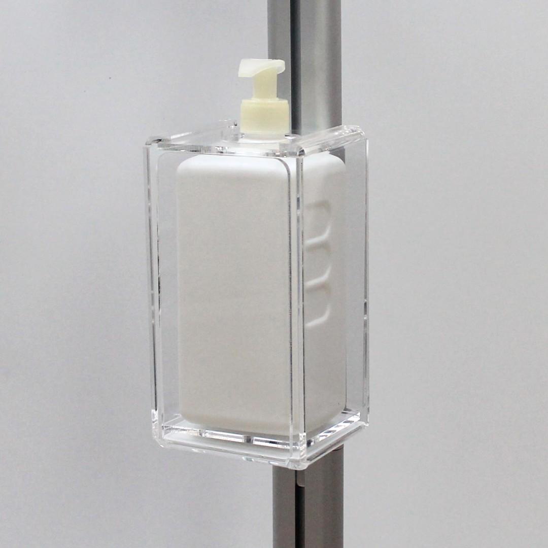 Anti-Viral Information Point Sanitising Display Stand