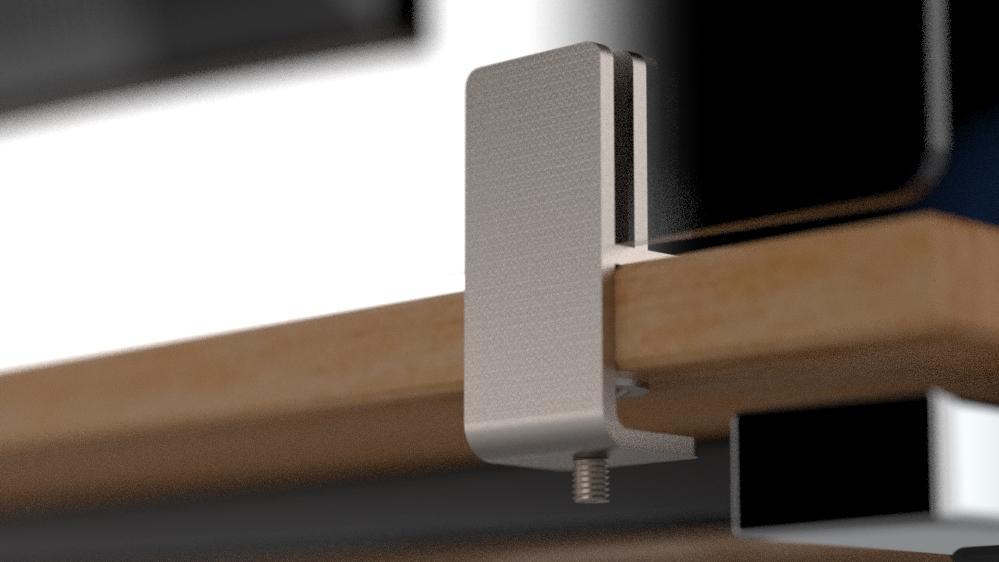 Perspex Acrylic Desk Screen Divider Side Panels - QuickFix