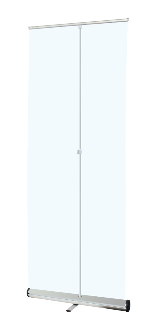 Clear Roller Banner Covid-19 Screen 1000mm Wide