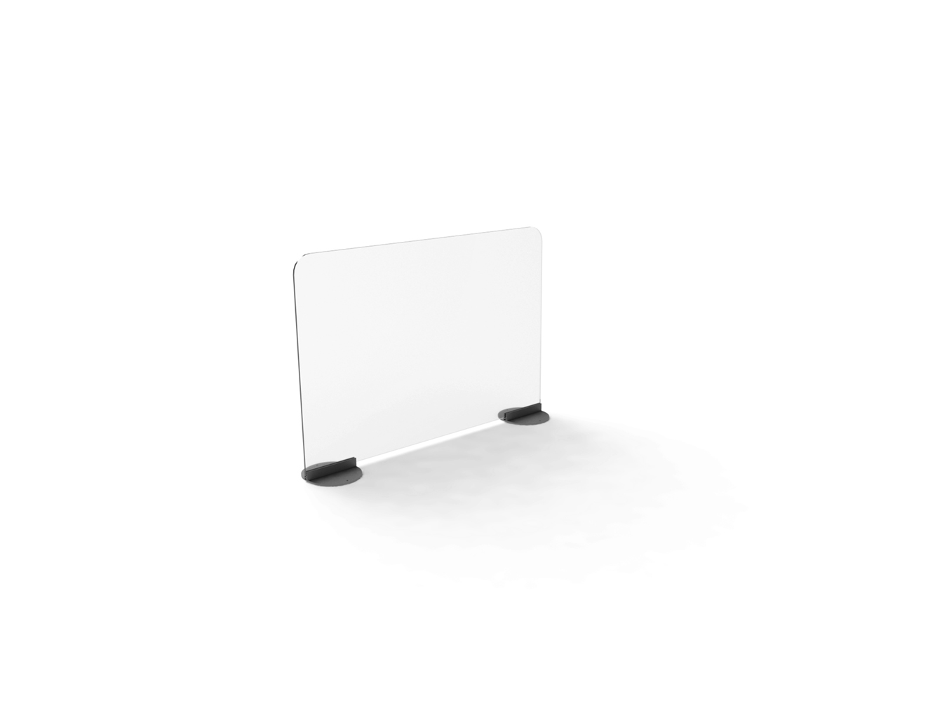 Clear Acrylic Desk Protective Screens
