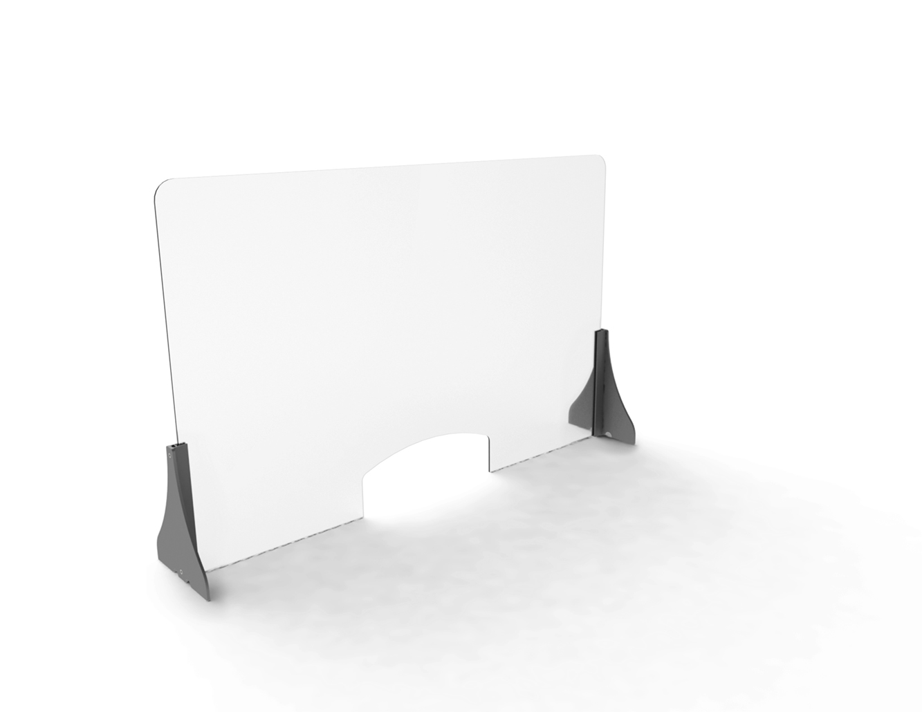 Clear Protection Desk Counter Screen - Perspex Acrylic