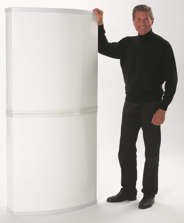 Solus Promotional Counter - 2 Tall Tower