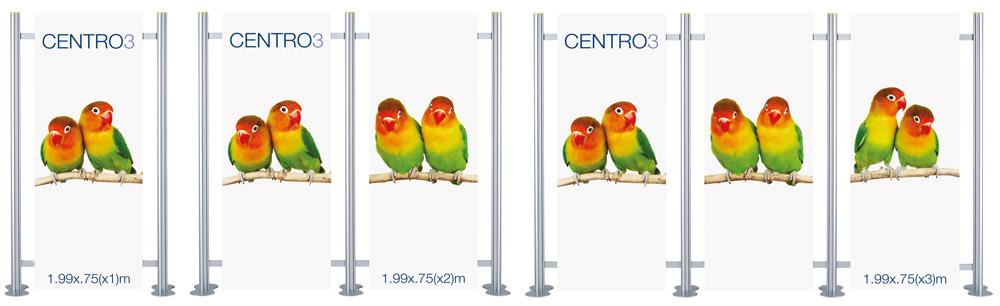 Centro 3 Modular Display Stand